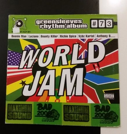 Reggae Dancehall winyl World Jam Riddim 2LP