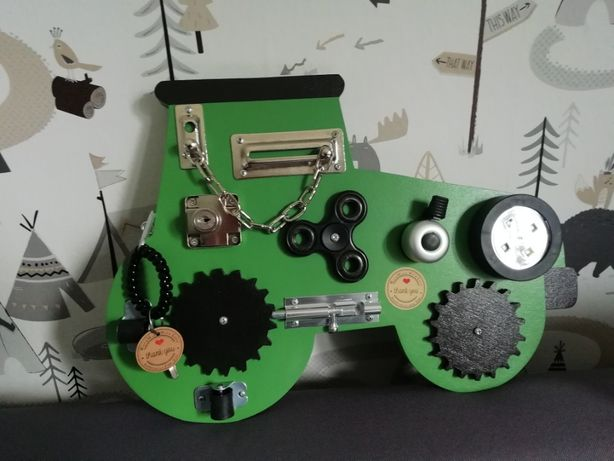 Tablica manipulacyjna Traktor traktorek
