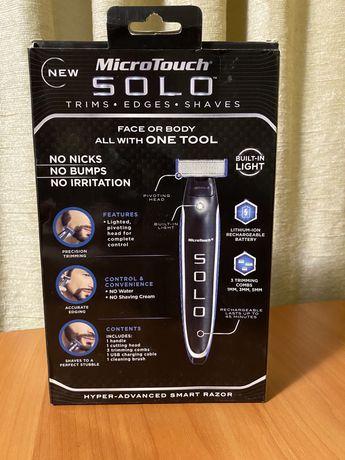 Тример триммер соло микро для бороди усов бороды мужской чоловічий