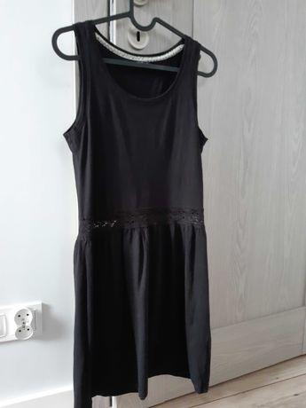 Krótka czarna sukienka rozm 36/S HOUSE