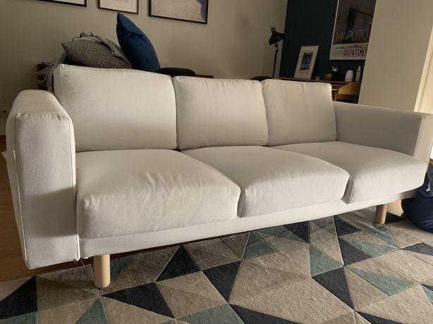 Sofá Ikea Norsborg Finnsta branco -urgente-