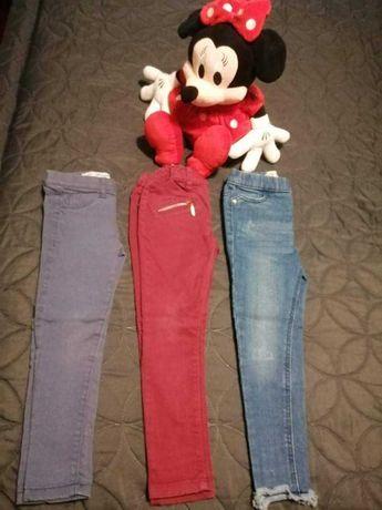 Conjunto de calças de ganga menina