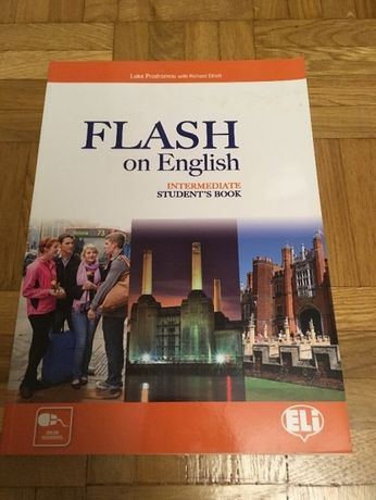 Flash on English Intermediate Students Book ELI anglielski książka