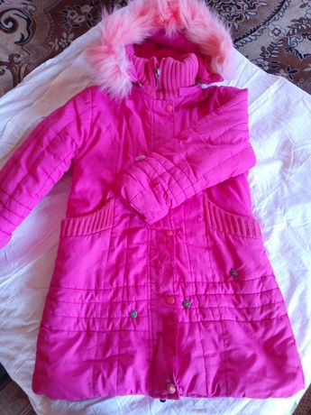 курточка на девочку на 6-7лет