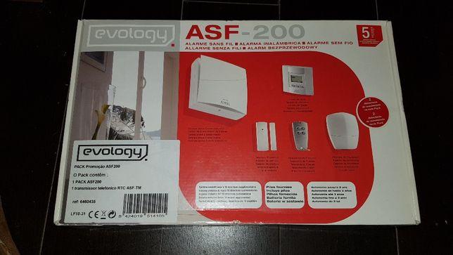Vendo Kit de Alarme Evology ASF - 200 - NOVO embalado (oferta portes)