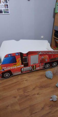 Łóżko dziecięce straż pożarna plus materac