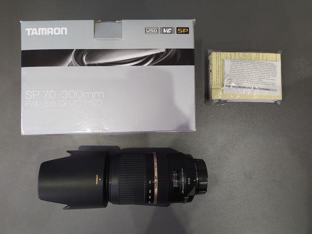 Obiektyw Tamron SP 70-300