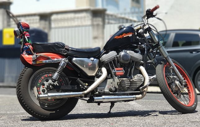 Harley davidson xl 53 custom 1200