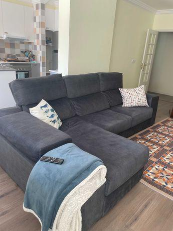 Sofá com chaise longue Conforama