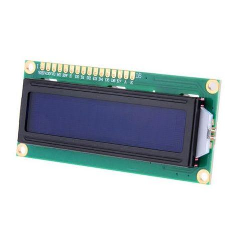 LCD display 1602 verde