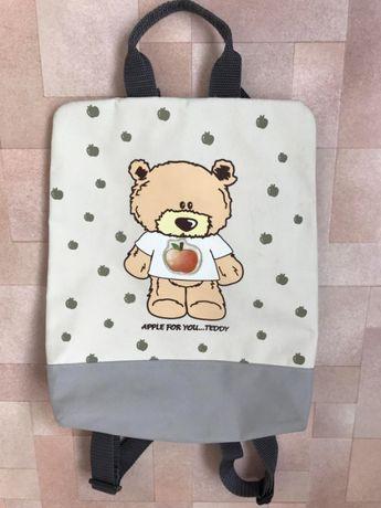 Детская сумка и рюкзак для девочки.