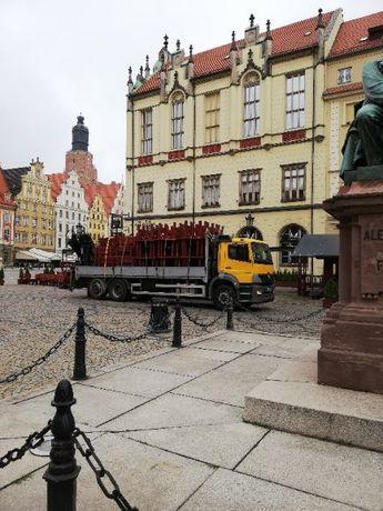 Transport HDS Wrocław - Bielany Wrocławskie- Dolny Śląsk