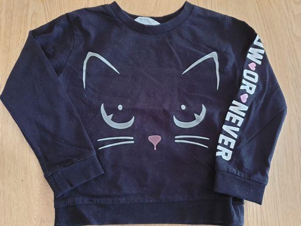 Czarna bluza h&m 98/104