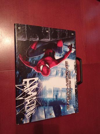 Teczka twarda z rączką Spider-Man