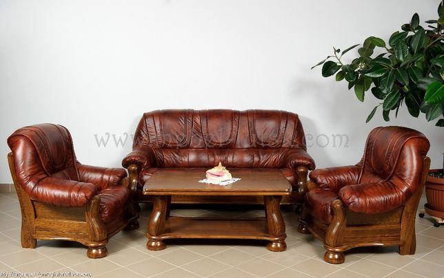 Новий шкіряний диван і два крісла Venecia - Кожаный диван и два кресла