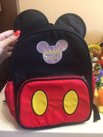 Zara kids рюкзак мауса