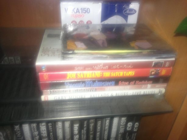 Продам DVD Yngwie Malmsteen, Gary Moore, Joe Satriani, SRV!