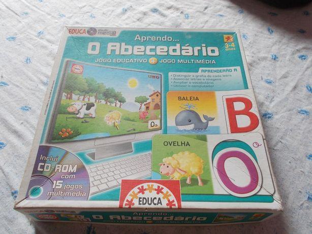 Jogo para aprender o abecedário
