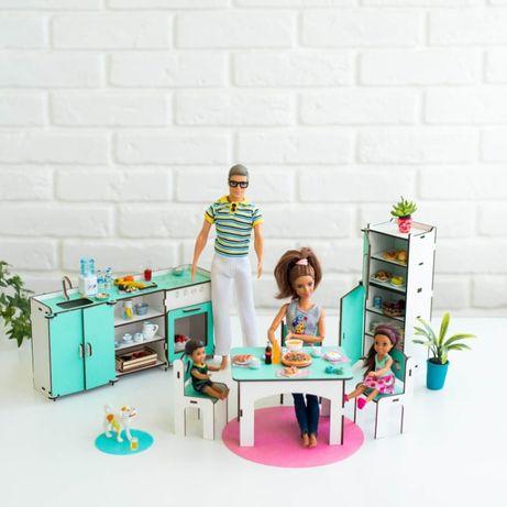Мебель NestWood КУХНЯ кукольный домик Дом куклы Барби Винкс Лол Lol