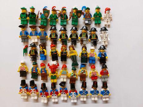 Lego Pirates, Forestman- minifigurki, figurki, ludziki