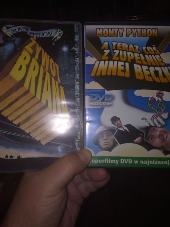 DVD Monty Python Żywot Briana i a teraz coś z zupełnie innej beczki