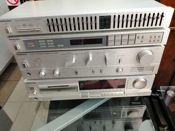Technics SH8045, ST S505, SU V505, SL P555 wieża