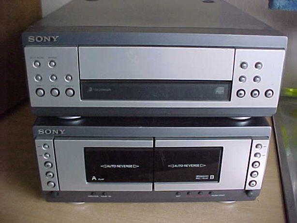 Dwa segmenty Sony MHC-S3