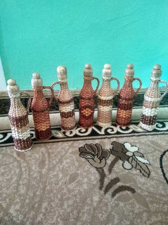 Бутылки плетение 0,5
