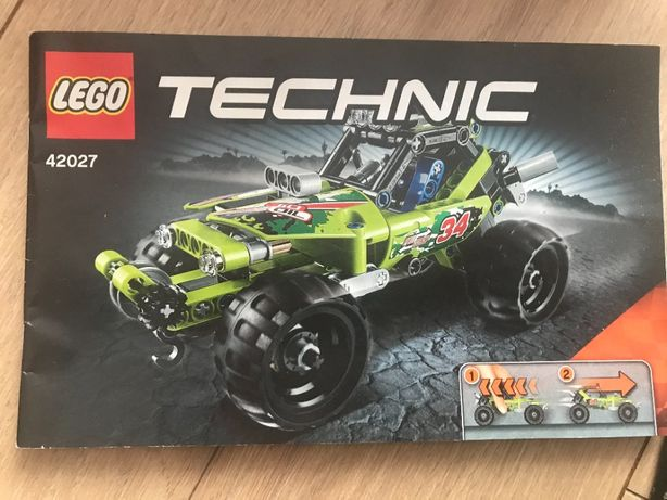klocki Lego 42027 pustynna wyścigówka TECHNIC