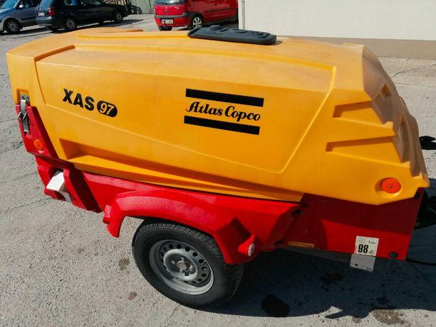 Sprężarka kompresor Atlas Copco XAS97 2013r. 2086g