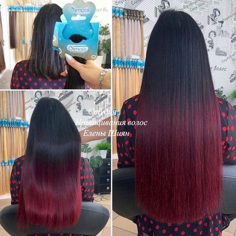 Волосы эксклюзивных цветов только в студии наращивания Елены Шиян