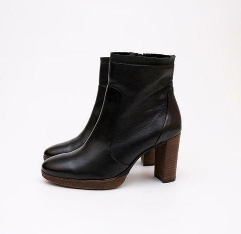 Paul green кожаные ботинки, сапоги, полуботинки, ботильоны 25,5 см