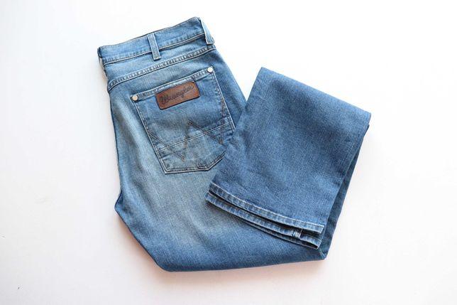 Męskie spodnie jeansy Wrangler ACE ZIPFLY W32 L34 idealne jak nowe