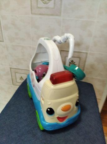 Машинка маленького лікаря. Швидка допомога Leapfrog.