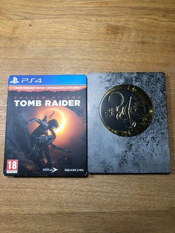 Shadow of The Tomb Raider Edycja Limitowana STEELBOOK DUBBING PL PS4