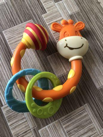 Погремушка прорезыватель жираф Tiny love