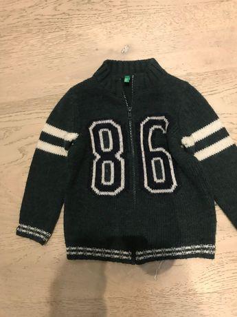 Sweter chłopięcy Benetton 2 latka