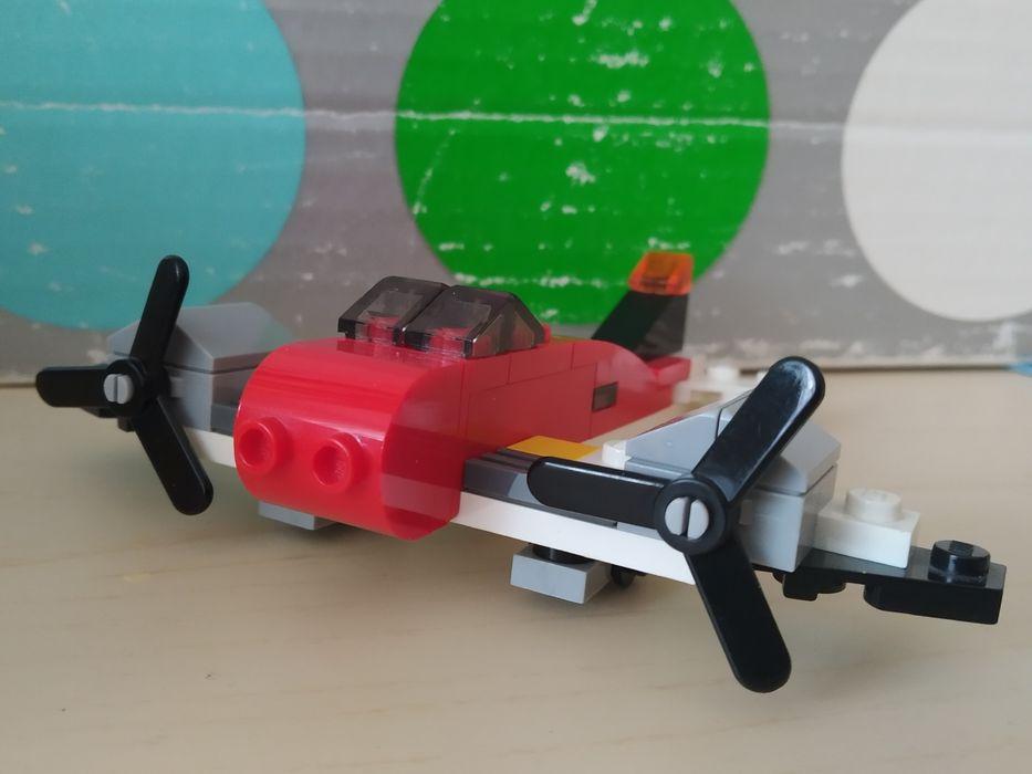 Lego creator 30180 czerwony samolot Szczecin - image 1
