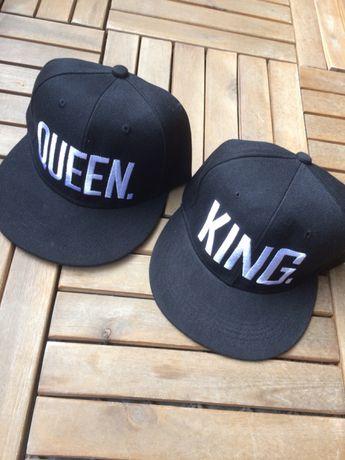 Nowe!! Czapki full cap King Queen