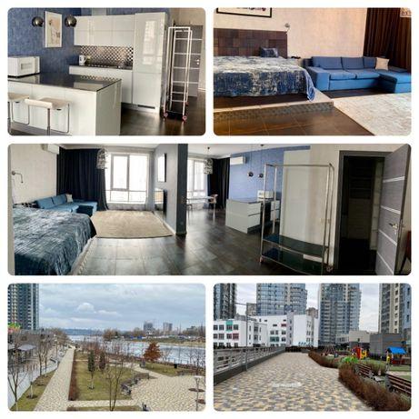 ЖК RiverStone, Дніпровська набережна 14 /1-но кімн./64м2./155 000$
