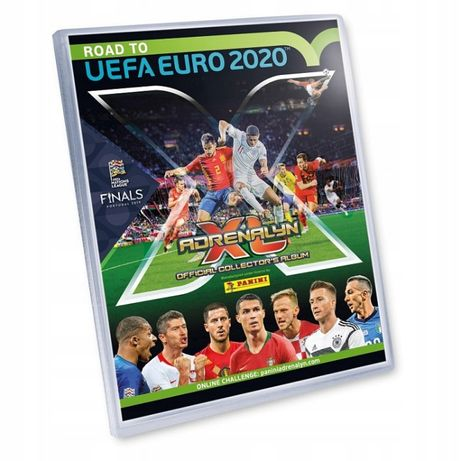 Karty Panini Adrenalyn XL Road to UEFA Euro 2020