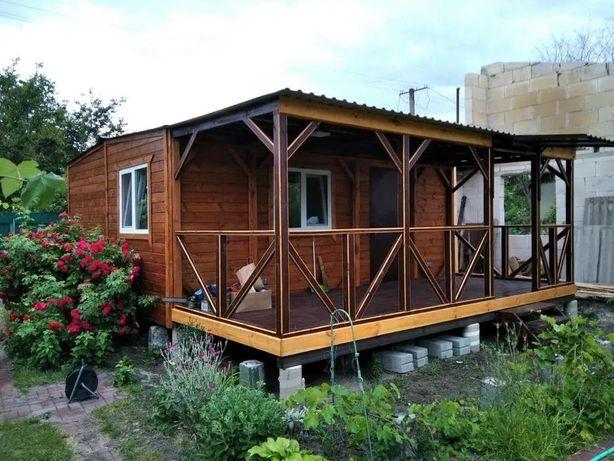 Бытовка, дачные домики, мини-офисы, вагончики из дерева, садовый дом