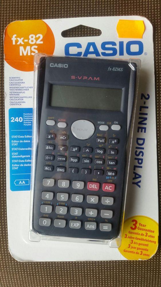 Kalkulator naukowy casio.