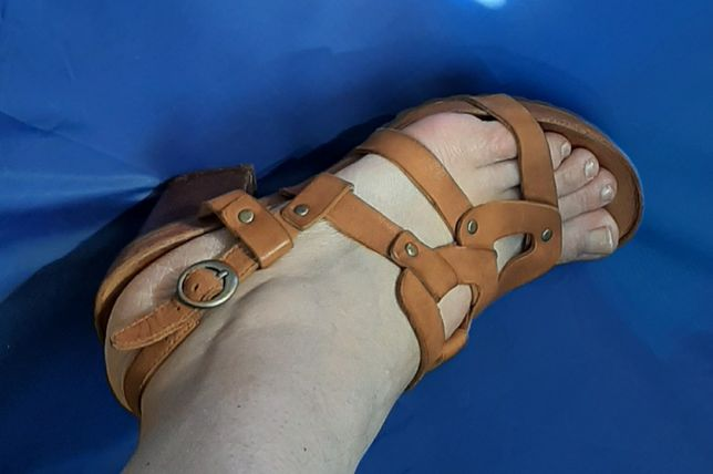 Кожаные босоножки сандалии 38 р . Timberland оригинал