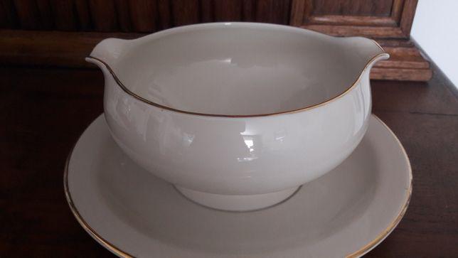 Edelstein sosjerka ecru porcelana Bavaria serwis