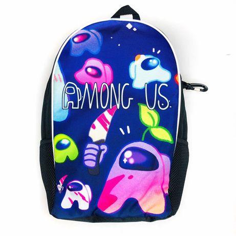 Амонг Ас рюкзак для 1-5 класу шкільний - від Crazy Bags, опт, роздріб