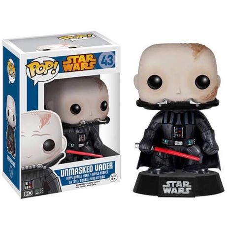 FUNK POP! Star Wars Unmasked Vader nr. 43 unikat