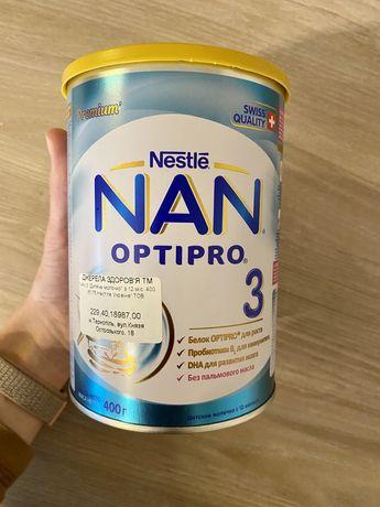 NAN optipro 3 400 гр смесь суміш
