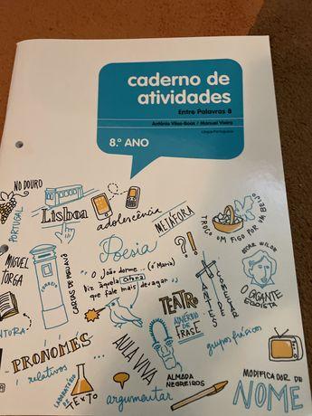 Entre palavras 8 caderno de atividades