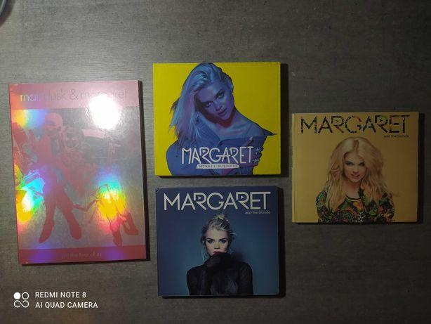 Cztery płyty Margaret +książka i autograf